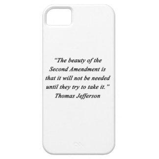Jefferson - Second Amendment iPhone 5 Cases