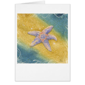 JEFFERSON STARFISH ROCKS CRANE BEACH Card