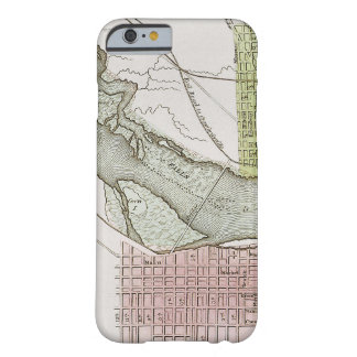 JEFFERSONVILLE, INDIANA: MAP BARELY THERE iPhone 6 CASE