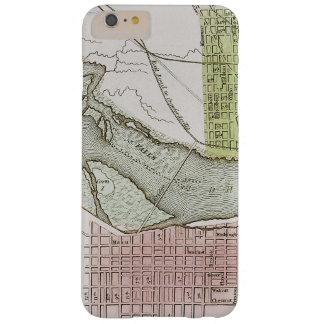 JEFFERSONVILLE, INDIANA: MAP BARELY THERE iPhone 6 PLUS CASE