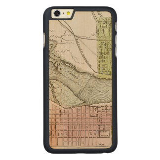 JEFFERSONVILLE, INDIANA: MAP CARVED® MAPLE iPhone 6 PLUS CASE