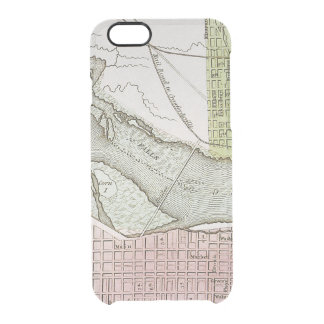 JEFFERSONVILLE, INDIANA: MAP CLEAR iPhone 6/6S CASE