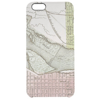 JEFFERSONVILLE, INDIANA: MAP CLEAR iPhone 6 PLUS CASE