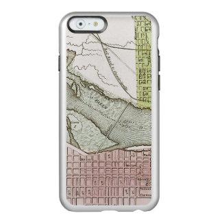 JEFFERSONVILLE, INDIANA: MAP INCIPIO FEATHER® SHINE iPhone 6 CASE