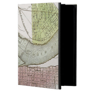 JEFFERSONVILLE, INDIANA: MAP iPad AIR COVERS