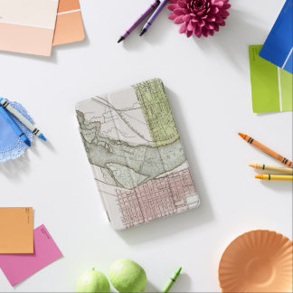 JEFFERSONVILLE, INDIANA: MAP iPad MINI COVER