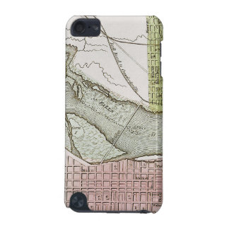 JEFFERSONVILLE, INDIANA: MAP iPod TOUCH (5TH GENERATION) CASE