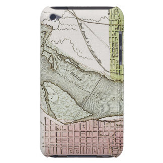 JEFFERSONVILLE, INDIANA: MAP iPod TOUCH COVERS