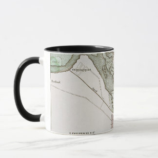 JEFFERSONVILLE, INDIANA: MAP MUG