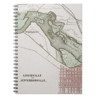 JEFFERSONVILLE, INDIANA: MAP NOTE BOOKS