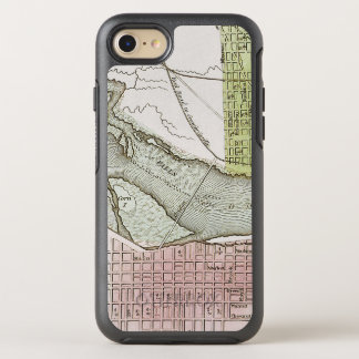 JEFFERSONVILLE, INDIANA: MAP OtterBox SYMMETRY iPhone 7 CASE