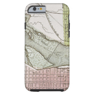 JEFFERSONVILLE, INDIANA: MAP TOUGH iPhone 6 CASE