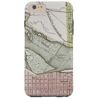 JEFFERSONVILLE, INDIANA: MAP TOUGH iPhone 6 PLUS CASE
