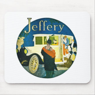 Jeffery Automobiles Advertisement Mouse Pad
