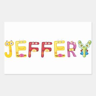 Jeffery Sticker