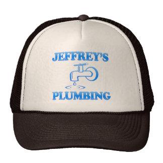 Jeffrey's Plumbing Trucker Hat