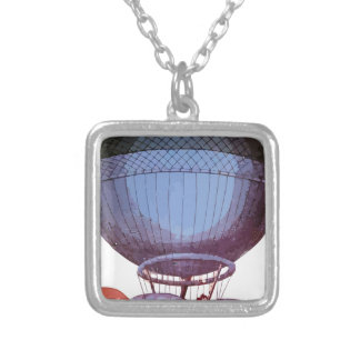 Jeffries_balloon Silver Plated Necklace