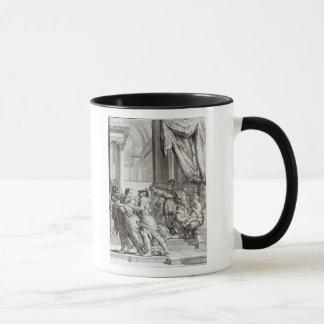 Jehoiada, High Priest of Jerusalem Proclaiming Mug