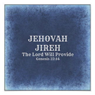 Jehovah Jireh Poster