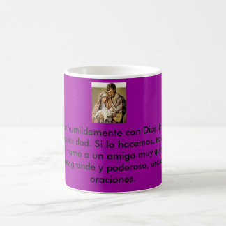 Jehovah, To pray is to speak humbly with God. H… Classic White Coffee Mug