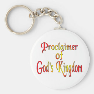 Jehovah's Witness Basic Round Button Keychain