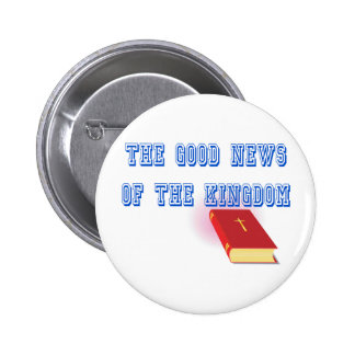 Jehovah's Witness Good News 2 Inch Round Button