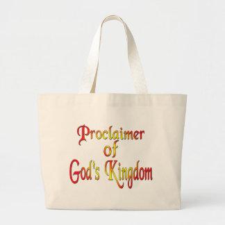 Jehovah's Witness Jumbo Tote Bag