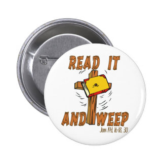 Jehovah's Witness Read it Pinback Buttons