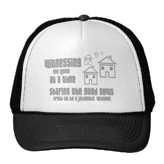 Jehovah's Witness Witnessing Mesh Hat