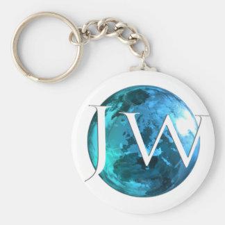 Jehovahs Witness Worldwide Basic Round Button Keychain