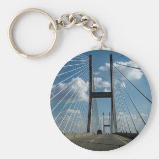 Jekyll Island Cable Bridge Keychain