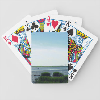 Jekyll Island Dock Bicycle Playing Cards