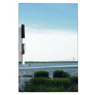 Jekyll Island Dock Dry-Erase Board