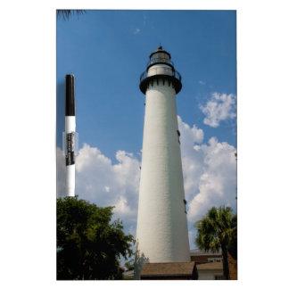 Jekyll Island Georgia Lighthouse Dry Erase White Board