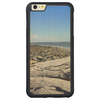 Jekyll View Carved® Maple iPhone 6 Plus Bumper Case