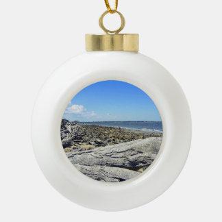 Jekyll View Ceramic Ball Ornament