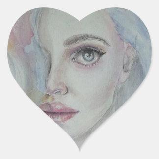 Jelena Heart Sticker