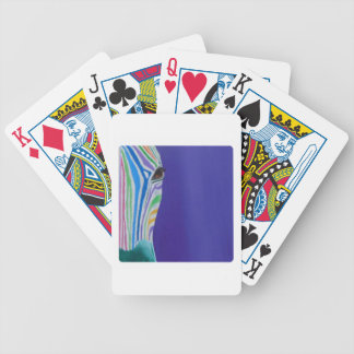 Jelena the Zebra Bicycle Playing Cards