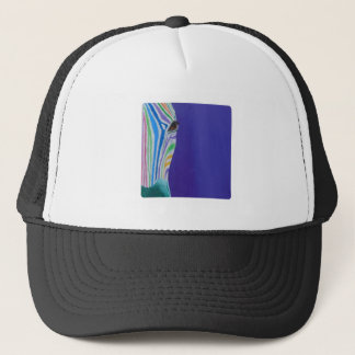 Jelena the Zebra Trucker Hat