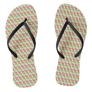 Jella / Custom Adult, Slim Straps Flip Flops