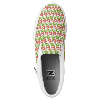 Jella / Custom Zipz Slip On Shoes