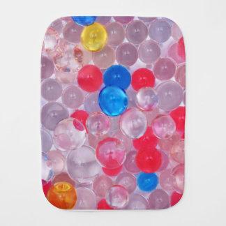 jelly balls baby burp cloths