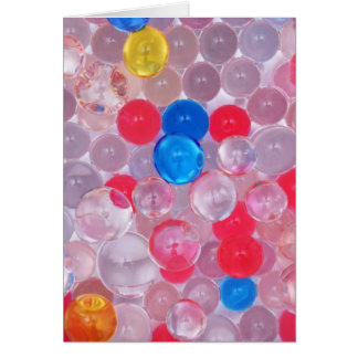 jelly balls card