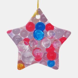 jelly balls ceramic ornament