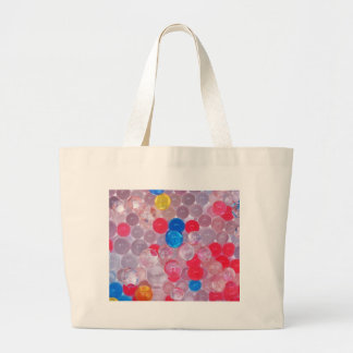 jelly balls large tote bag