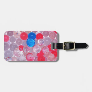 jelly balls luggage tag
