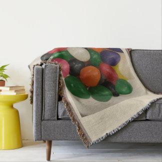 Jelly Bean Blanket Throw