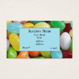 Jelly Bean Design Business Card