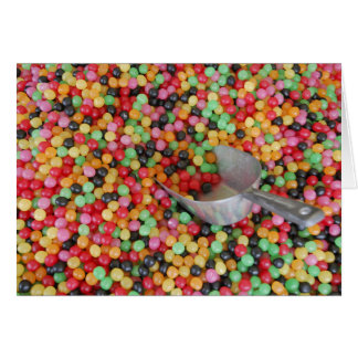 Jelly Bean Heaven greeting Card