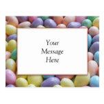Jelly Bean Invitation Template Postcards